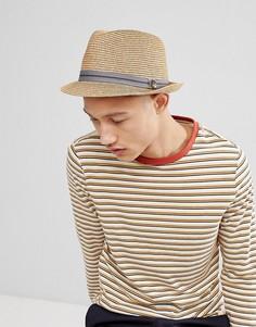 Соломенная шляпа ASOS DESIGN - Бежевый Goorin