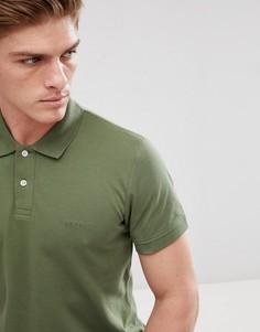 Поло цвета хаки Esprit - Зеленый