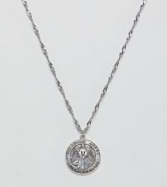 Серебряное ожерелье с медальоном Regal Rose - Серебряный