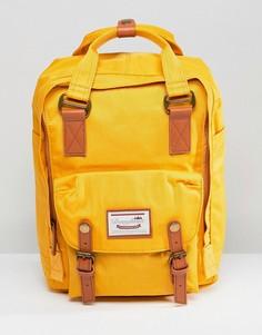 Рюкзак горчичного цвета Doughnut Macaroon - Желтый