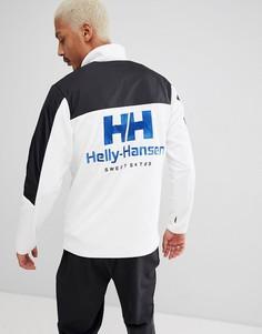 Черная куртка с молнией 1/4 и логотипом на спине SWEET SKTBS x Helly Hansen - Черный