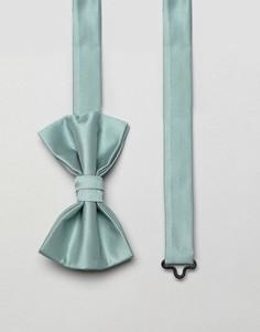 Галстук-бабочка мятного цвета ASOS DESIGN - Зеленый