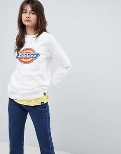 Oversize-свитшот с логотипом Dickies - Белый