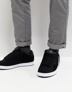 Черные кроссовки Etnies Fader - Черный