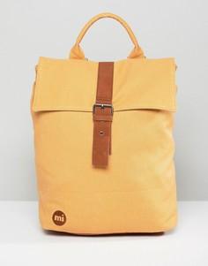 Бежевый парусиновый рюкзак Mi-Pac - Бежевый