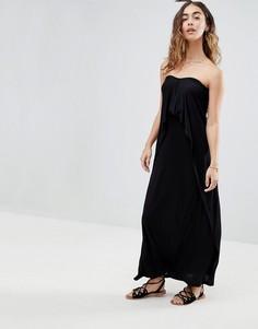 Пляжное платье-бандо макси ASOS - Черный