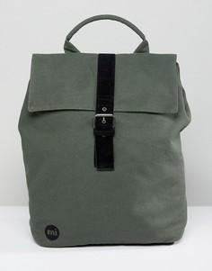 Парусиновый рюкзак цвета хаки Mi-Pac - Зеленый