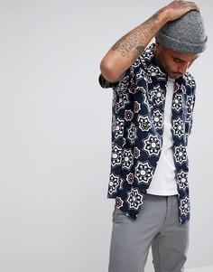 Рубашка с короткими рукавами и принтом Levis Skateboarding - Темно-синий