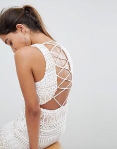 Платье мини Love Triangle - Белый