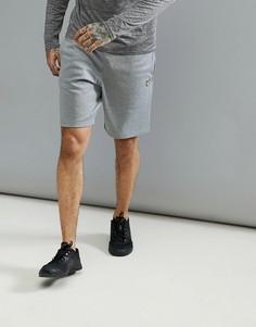 Серые меланжевые шорты Lyle & Scott Fitness - Серый