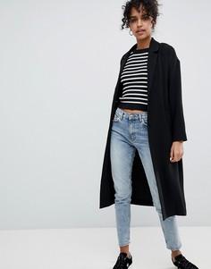 Легкое пальто Monki - Черный