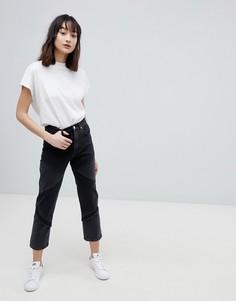 Черные прямые джинсы ASOS DESIGN Florence - Черный
