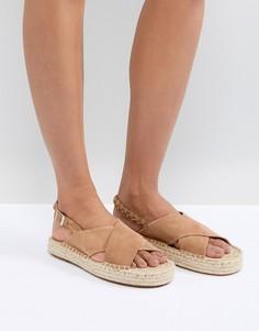 Замшевые сандалии Suncoo - Коричневый