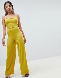 Комбинезон с широкими штанинами Missguided - Желтый