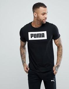 Черная футболка Puma Rebel Basic 85055401 - Черный