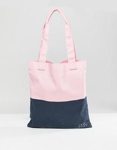 Классическая сумка для книг Jack Wills Ambleshire - Розовый