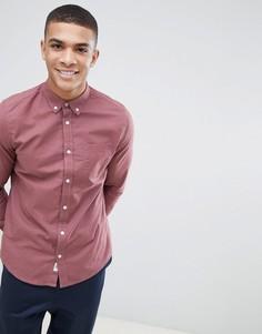 Розовая оксфордская рубашка классического кроя Burton Menswear - Розовый