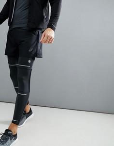 Черные шорты с разрезами Asics Running 134092-0904 - Черный