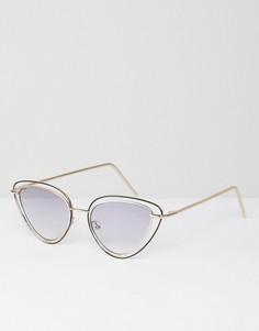 Солнцезащитные очки кошачий глаз ASOS DESIGN - Мульти