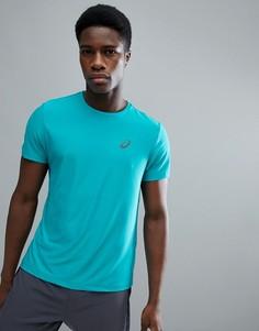 Синяя футболка Asics Running 134084-8098 - Синий