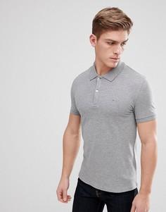 Серая футболка-поло Celio - Серый