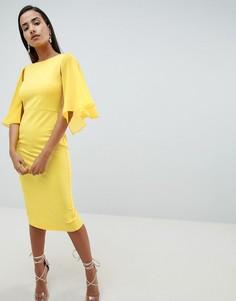 Платье-футляр ASOS DESIGN - Желтый
