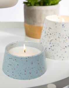 Маленькая свеча с ароматом цветов кактуса и кокоса Paddywax Confetti - 5 унций - Мульти