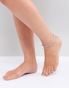 Браслет-фенечка на ногу South Beach - Мульти