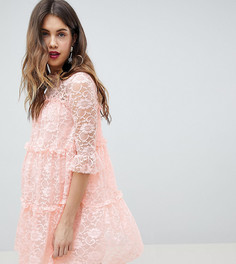 Кружевное свободное платье Queen Bee - Мульти