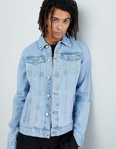 Светло-синяя джинсовая куртка Criminal Damage - Синий