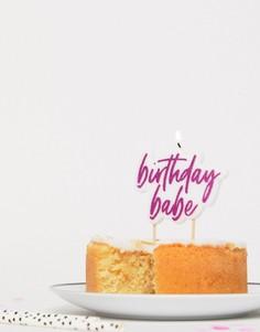 Свечи для торта Birthday Babe Ginger Ray - Мульти