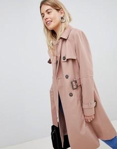 Тренч New Look - Розовый
