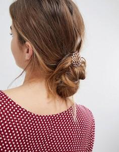 Заколка для волос цвета розового золота Orelia - Золотой