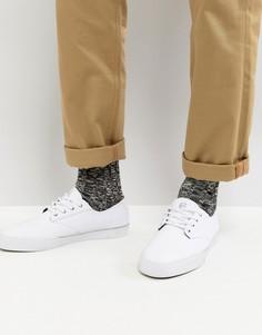 Белые кроссовки Etnies Jameson Vulc LS - Белый