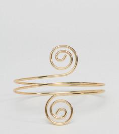 Браслет-манжета ASOS DESIGN Curve - Золотой