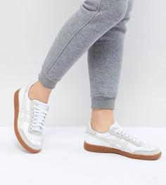 Белые кроссовки с резиновой подошвой Asics Viccka - Белый