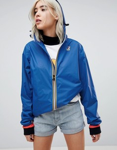 Водонепроницаемая куртка на молнии K-Way Claude 3.0 - Синий