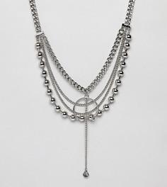Ожерелье-цепочка Sacred Hawk - Серебряный