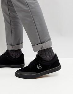 Черные кроссовки Etnies Marana Vulc - Черный