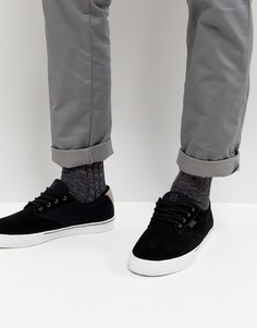 Черные кроссовки Etnies Jameson Vulc - Черный