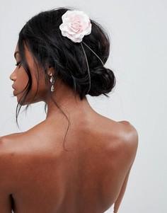 Цепочка для волос с цветами ASOS DESIGN - Золотой
