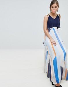 Платье макси в полоску Coast Suri - Мульти