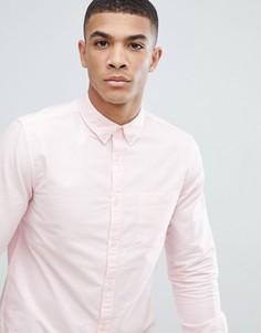 Розовая оксфордская рубашка классического кроя New Look - Розовый