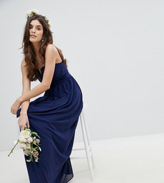Платье макси бандо TFNC - Темно-синий
