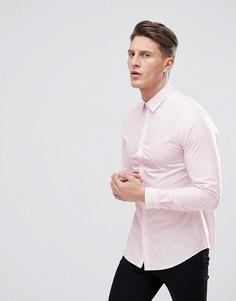 Розовая рубашка из поплина New Look - Розовый