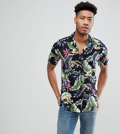 Рубашка с воротником в виде лацканов Le Breve TALL - Мульти
