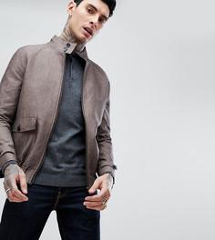Льняная куртка Харрингтон Heart & Dagger - Коричневый