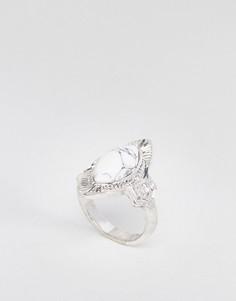 Кольцо с гравировкой ASOS DESIGN - Серебряный