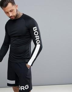 Черный лонгслив Bjorn Borg Performance - Черный