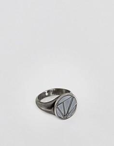 Серебристое кольцо на мизинец Simon Carter - Серебряный